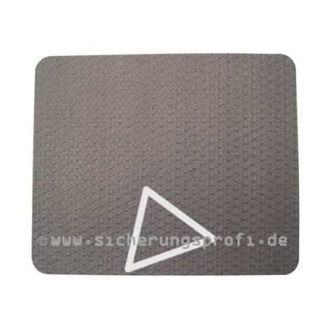 Antirutschmatte für PKW & LKW, 4,5 mm, 20 x 20 cm