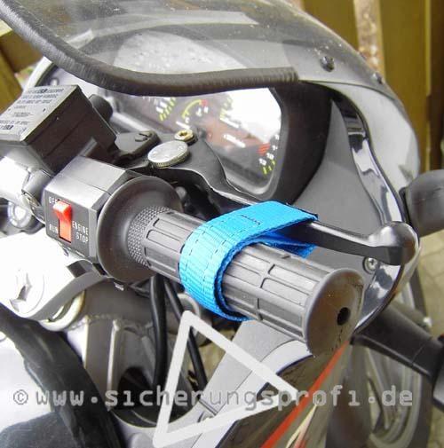 Bremshebel Arretierungsband für Motorräder