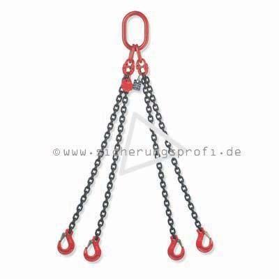 Kettengehänge 4-strang, 4.250 kg Tragkraft bei 0 - 45 Grad