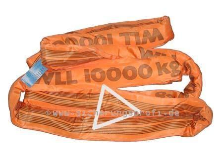 Rundschlinge 10.000 kg Tragkraft, verstärkter Einfachschlauch