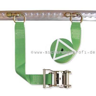 Zurrgurt 1.000 daN, 50 mm breit, Fitting mit Ring