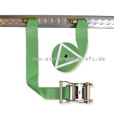 Zurrgurt 1.000 daN, 50 mm breit, Fitting ohne Ring