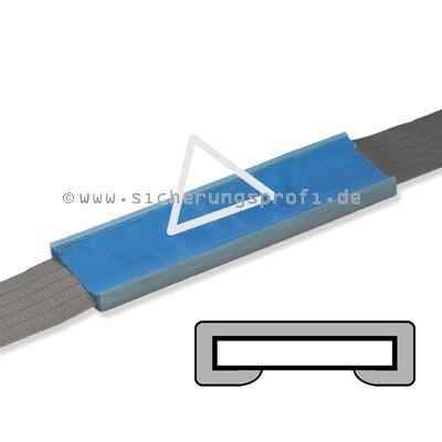 Bandschutz / Schnittschutz aus PU, einseitig für 30 mm Bandbreite