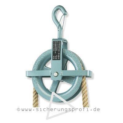 Bau-Aufzugsrolle für Seildurchmesser bis 28 mm