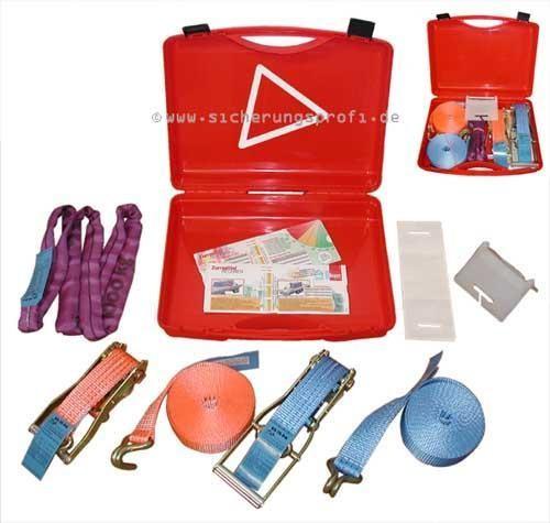 Schulungsset im Koffer für Ladungssicherung