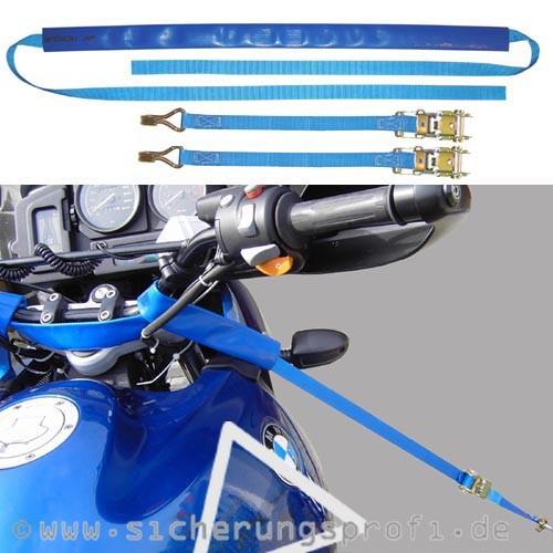 Bike-Lashing-Set , Motorradverzurrung, Zugkraft 1000 daN, 3-teilig