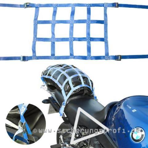 Gepäcknetz ca. 50 x 38 cm, mit 4 Klemmschlössern
